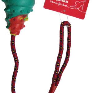 Gummileksak med rep